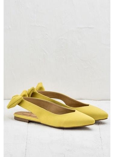Elle Süet Ayakkabı Sarı